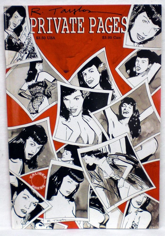 Bettie Page by Rick Taylor